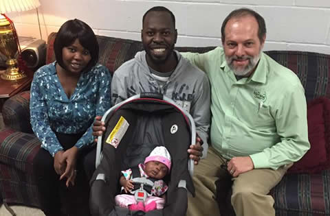 Family from Sudan receives care